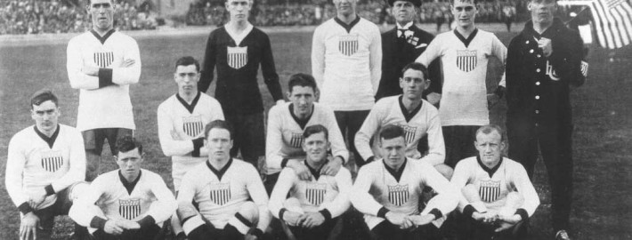 USA Mens Soccer Team 1916