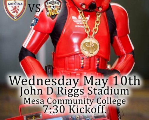 Star Wars Night for FC Arizona